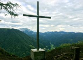 Spielmäuer Gipfelkreuz